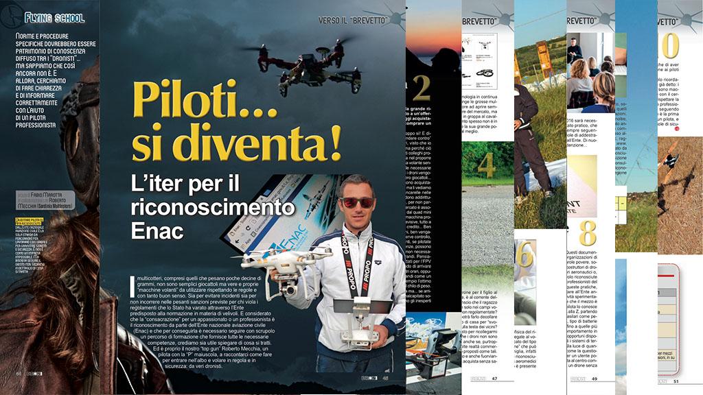 Riconoscimento ENAC Droni Magazine