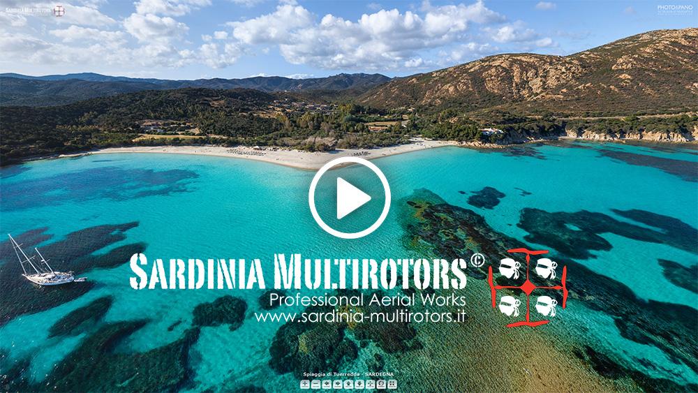 Sardinia - Tuerredda - by Sardinia Multirotors