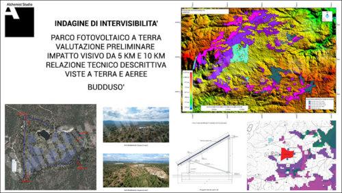 Mappe di intervisibilità - valutazione impatto visivo ambientale - Indagine di intervisibilità 5km e 10 km