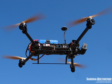 Drone BlackSnapper, Sardinia Multirotors