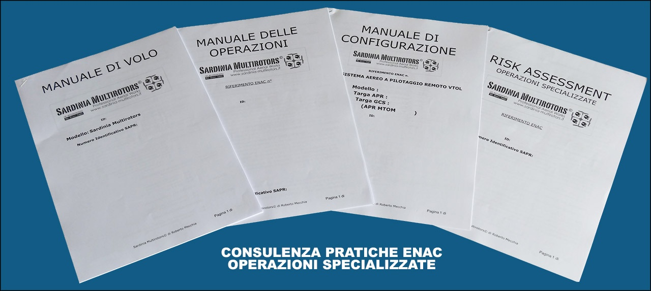Consulenza Pratiche ENAC - Sardinia Multirotors
