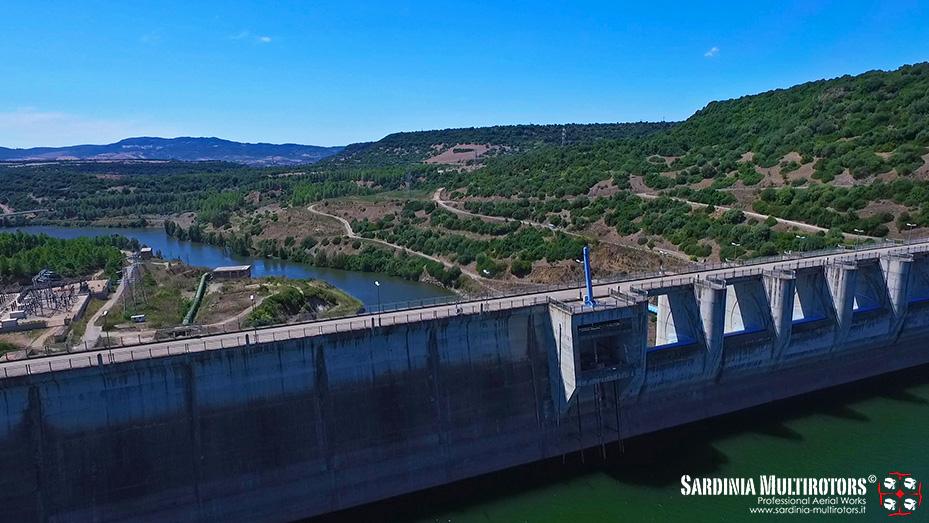 Ispezione dighe, infrastrutture idriche, ispezioni aeree, Sardinia Multirotors, Riprese Aeree Droni