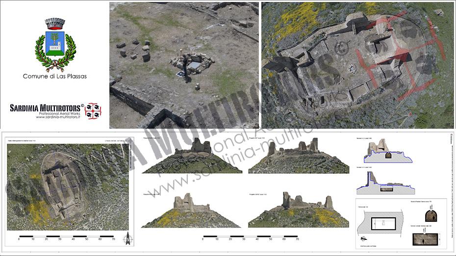 Castello di Marmilla - Las Plassas - Sardinia Multirotors