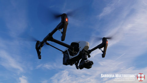 Sardinia Multirotors - Inspire 1 RAW Zenmuse XT 30Hz 13mm Lens