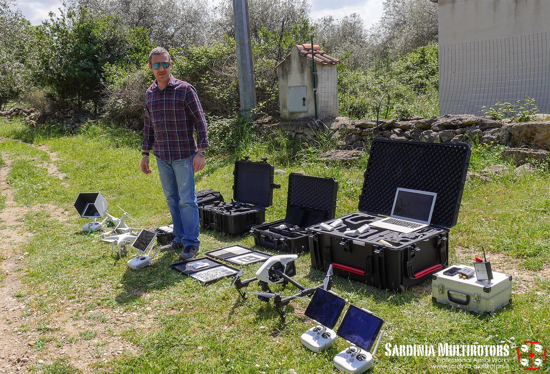 Sardinia Multirotors - Equipments
