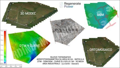 Rilievo topografico e Aerofotogrammetrico - Fotovoltaico