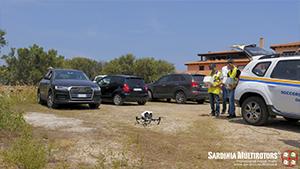 Ricerca dispersi con droni
